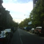 A view of Riverside Church from Harlem
