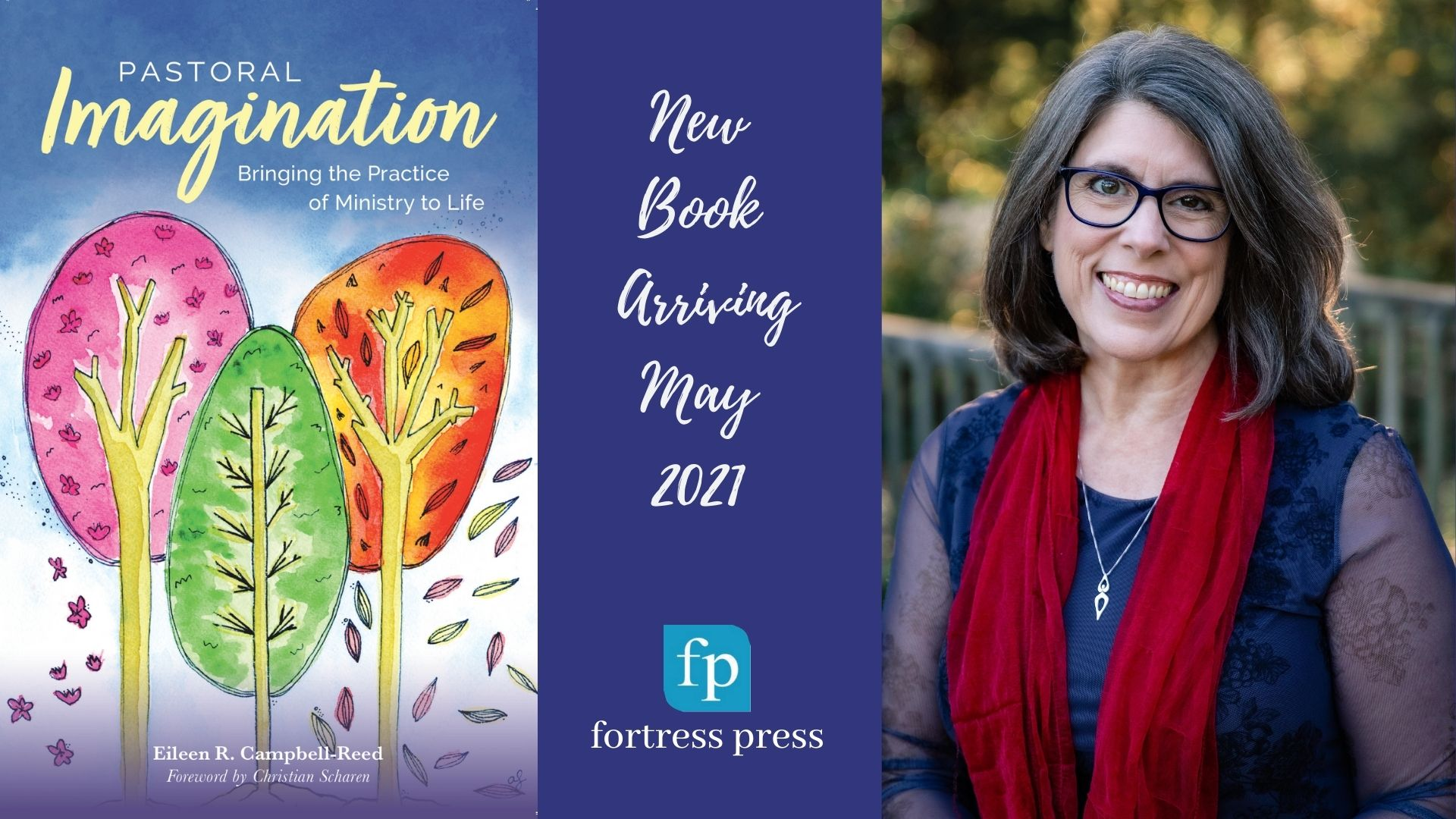 Pastoral Imagination Book + Author Eileen Campbell-Reed