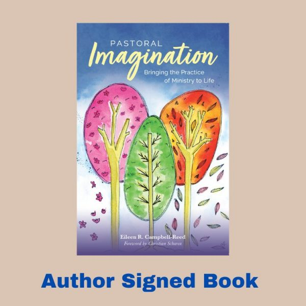 Pastoral Imagination book cover for the author signed copy