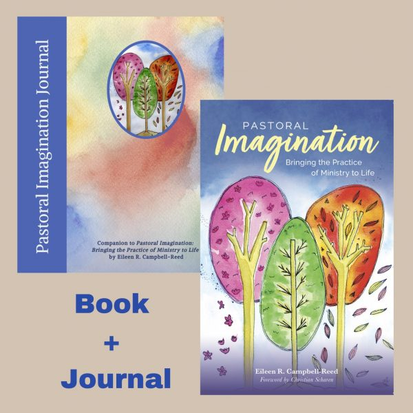 Image of the Pastoral Imagination book and journal bundle as a cover collage