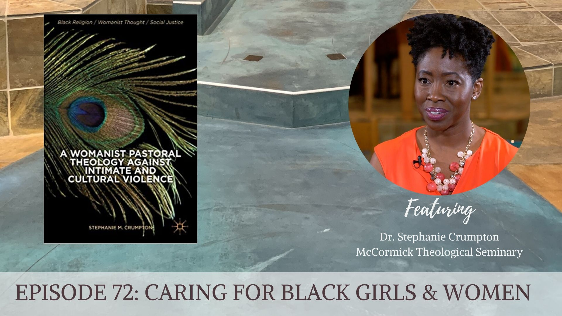 Dr. Stephanie Crumpton + book cover