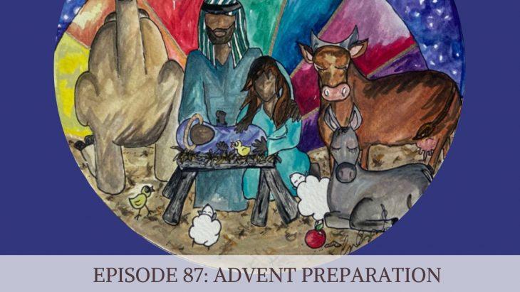 Advent preparation - art by Carlye Daugird