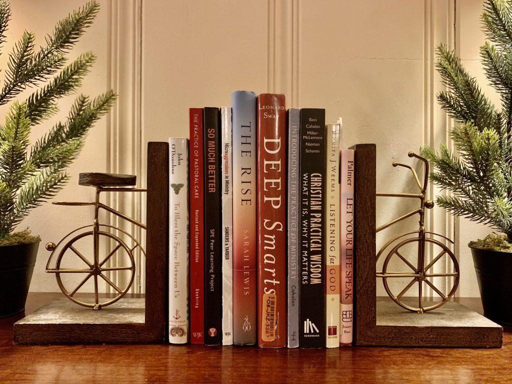 books + bike